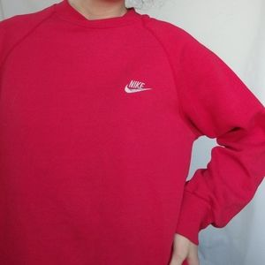 Vintage 90's Nike Swoosh Crewneck Sweatshirt L
